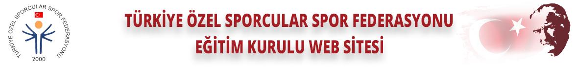 Türkiye Özel Sporcular Spor Federasyonu Eğitim Kurulu